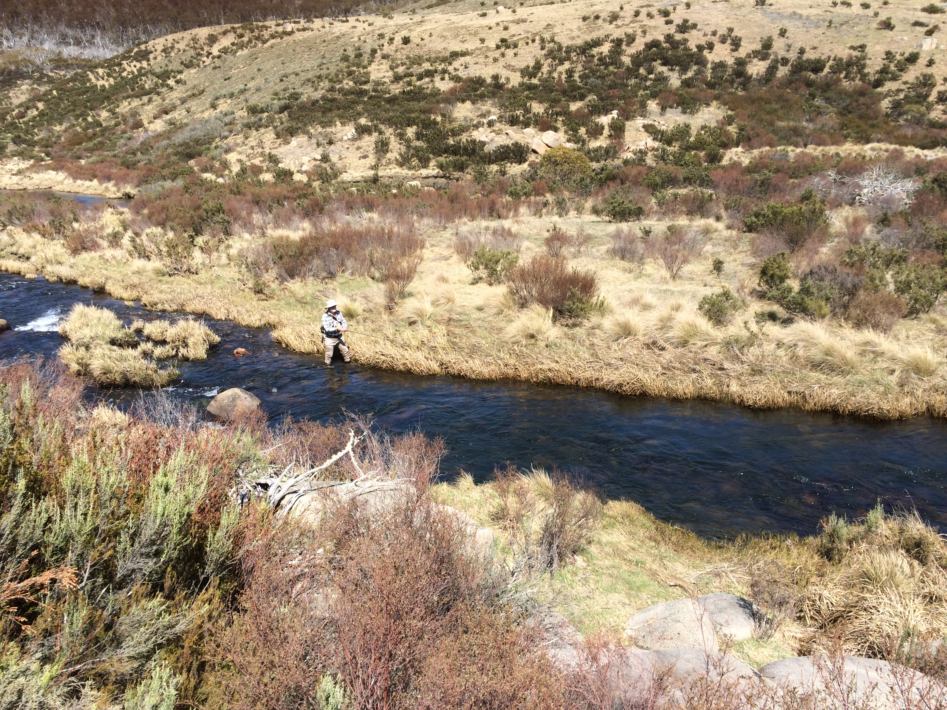 Eucumbene river in the NSW Snowy Mountains