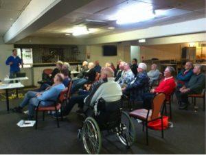 Lakeside fly fishing club meeting